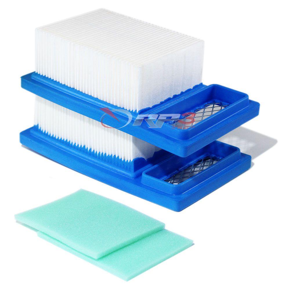 Filtro de Ar – Wacker BS 50-2 / BS 50-2i / BS 60-2 / BS 60-2i / BS 70-2 / BS 70-2i – (2 UNIDADES) - para Compactador de Solo