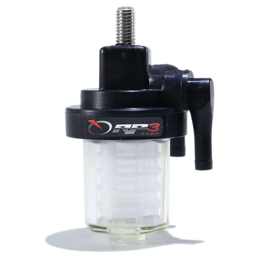 Filtro de Gasolina / Combustível Mercury Mariner - 15 HP  Super / 25 HP  Sea Pro  (1 UNIDADE) - para Motor de Popa
