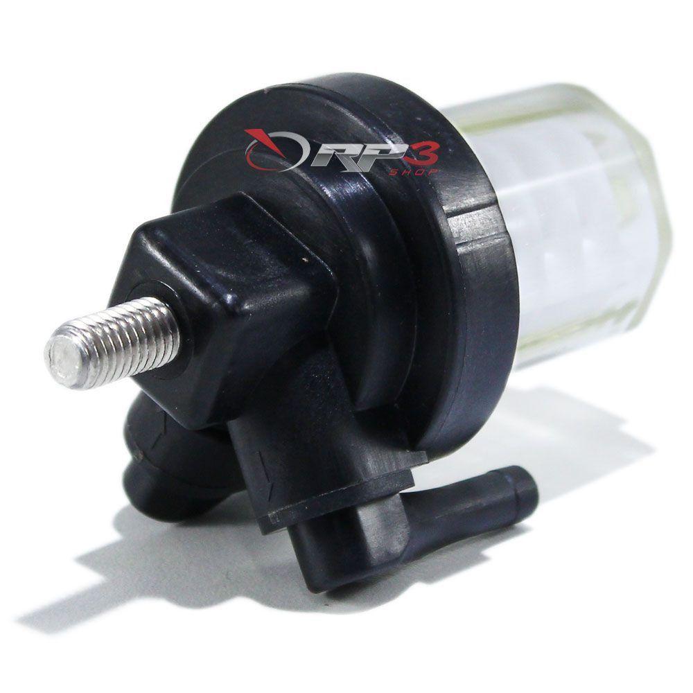 Filtro de Gasolina / Combustível Mercury Mariner - 15 HP – Super / 25 HP – Sea Pro – (1 UNIDADE) - para Motor de Popa