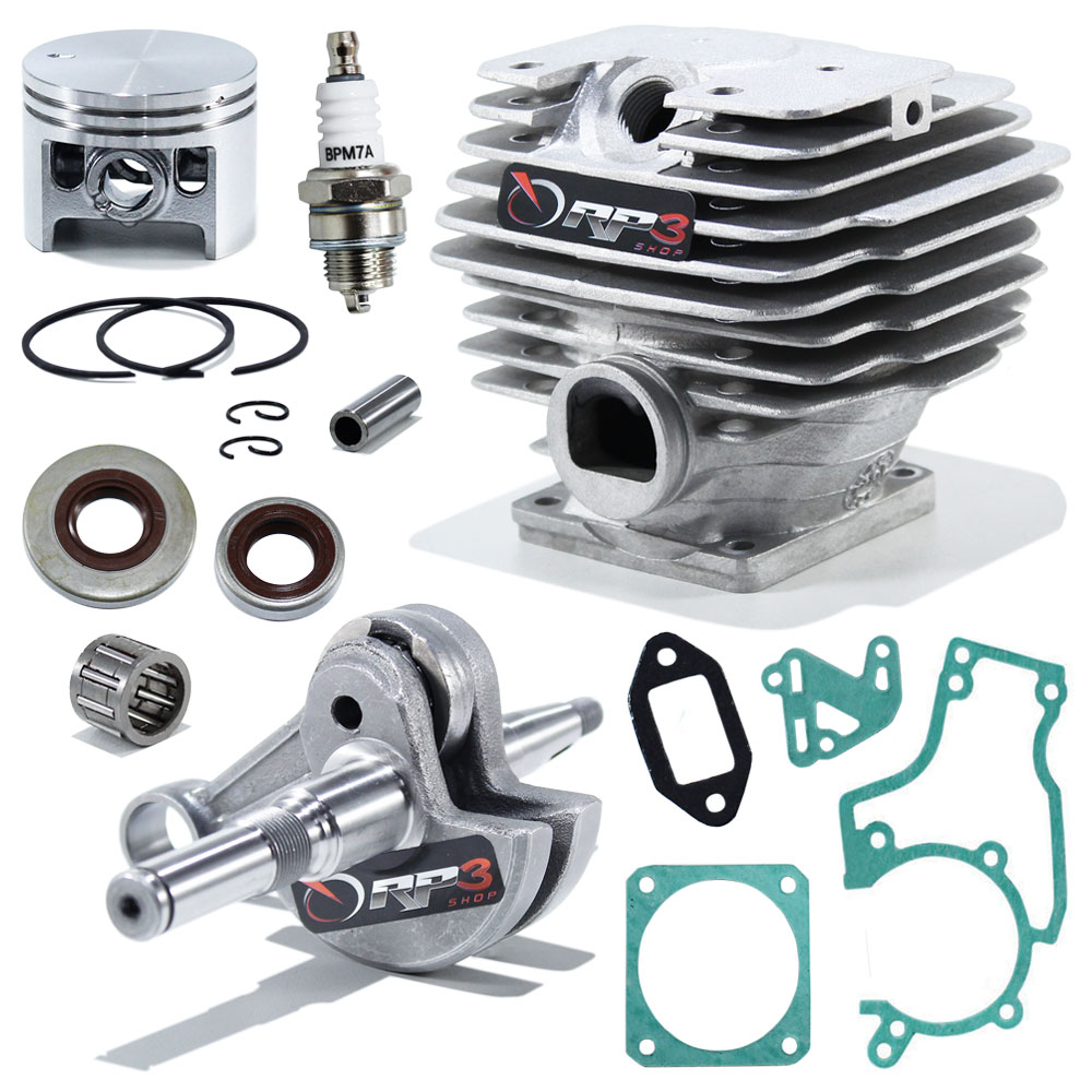 Kit Cilindro Motosserra 038 / MS 380 - (Kit Revisão)
