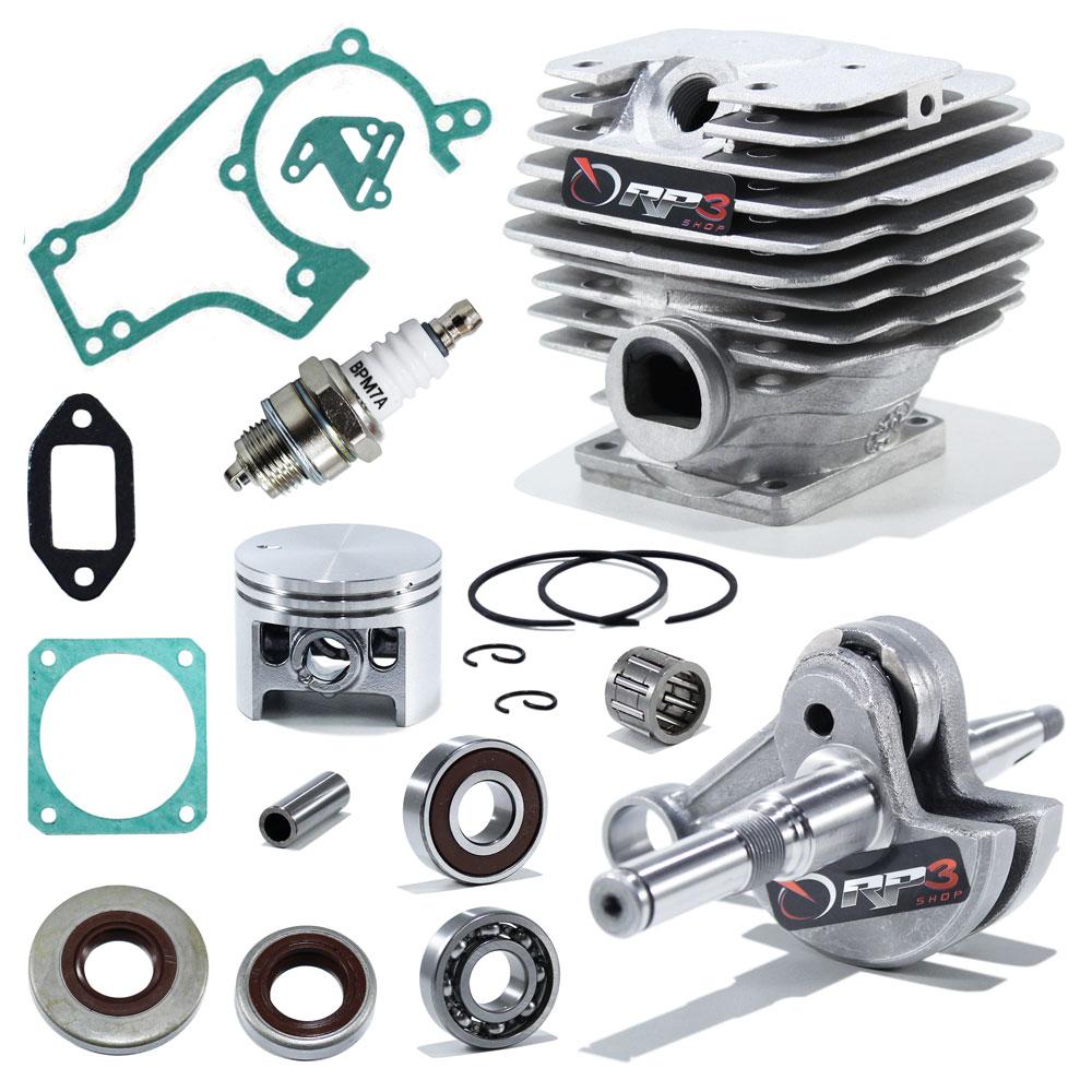 Kit Cilindro Motosserra 038 / MS 380 - (Kit Revisão 2)