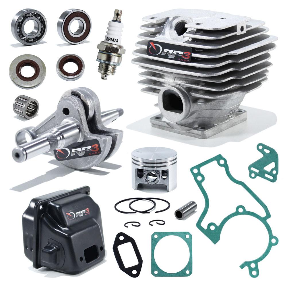 Kit Cilindro Motosserra 038 / MS 380 - (Kit Revisão 3)