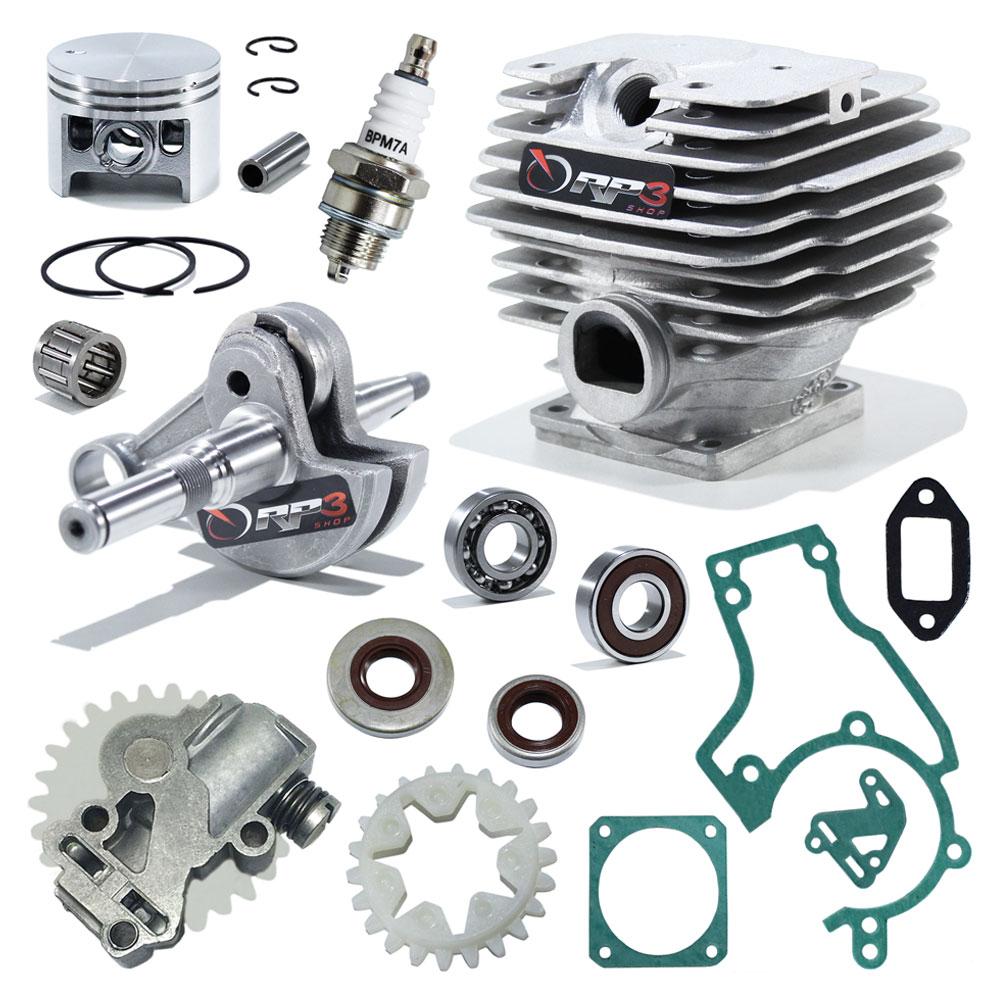 Kit Cilindro Motosserra 038 / MS 380 - (Kit Revisão PREMIUM)