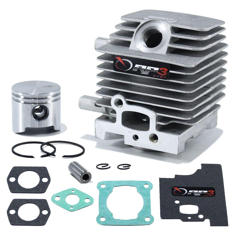 Kit Cilindro Roçadeira FS 75 / FS 80 / FS 80 R / FS 85 / FS 85 R / FS 85 T / FS 85 RX / FR 85 T / FR 85 / Ka 85 / Ka 85r / Sp 81 + Juntas