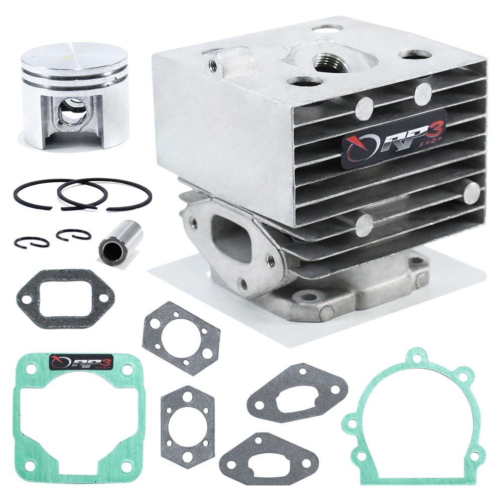Kit cilindro Soprador de Folhas Costal BR 420 / BR 420 C / BR 340 / BR 340 L / BR 380 + Jogo Juntas