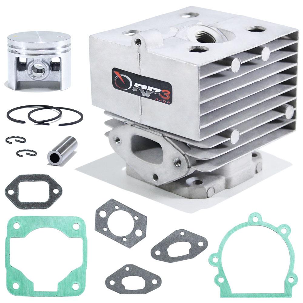 Kit cilindro Soprador de Folhas Costal BR 420 / BR 420 C / BR 340 / BR 340 L / BR 380 + Juntas