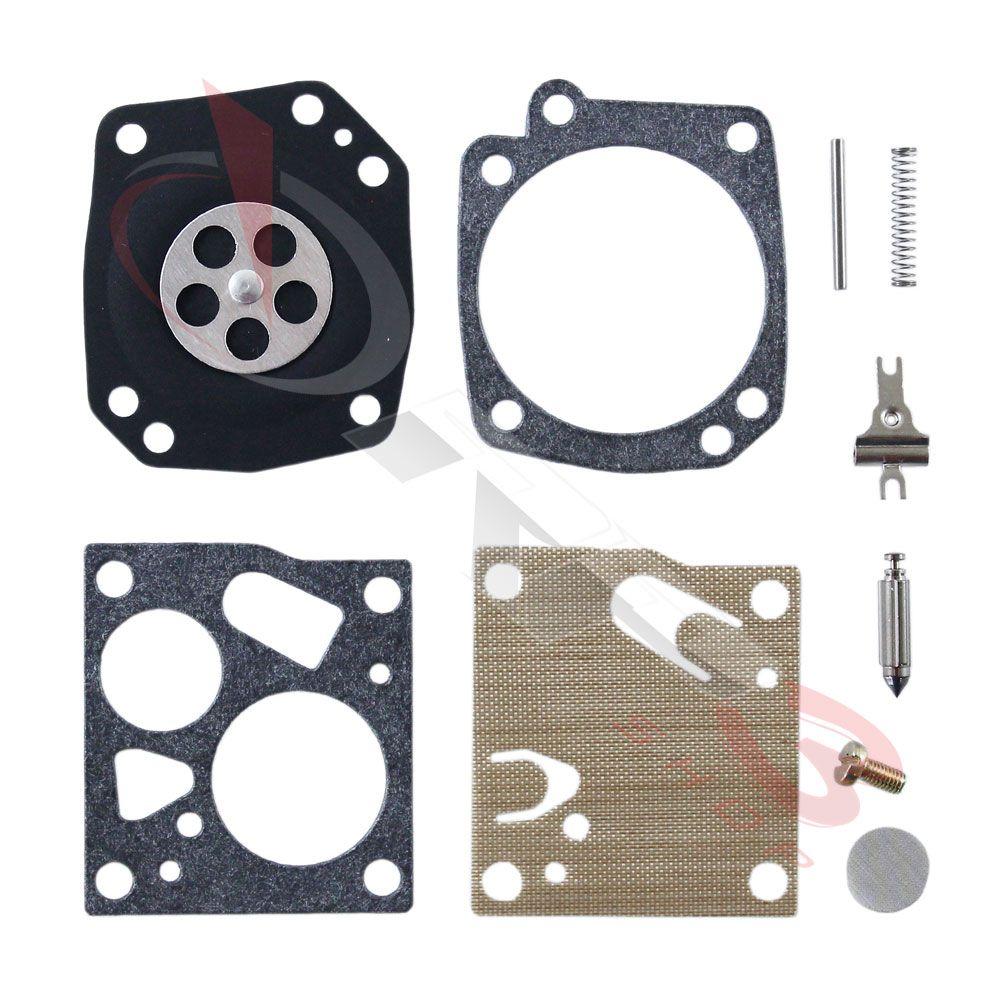 Kit de reparo de carburador COMPLETO – Stihl 08 / 051 – Carburador Quadrado -  para Motosserra