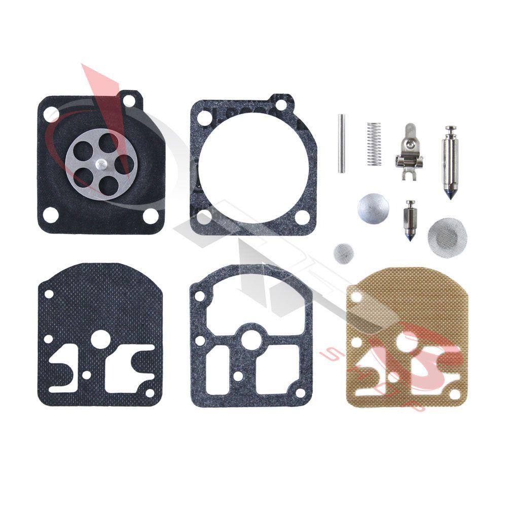 Kit de reparo de carburador COMPLETO – Stihl FS 160 / FS 220 / FS 280 / FS 290 – Carburador modelo ZAMA - (2 KIT) - para Roçadeira