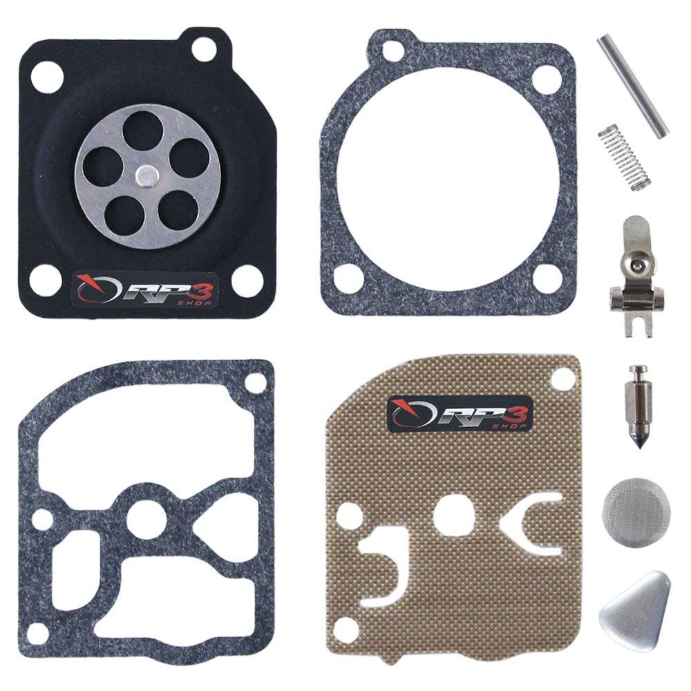 Kit de reparo de carburador COMPLETO – FS 85 – Modelo ANTIGO - para Roçadeira