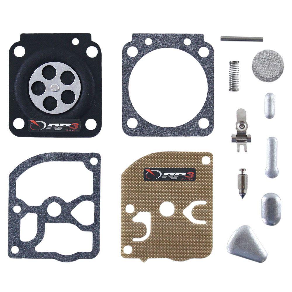 Kit de reparo de carburador COMPLETO  FS 85  Modelo NOVO - para Roçadeira