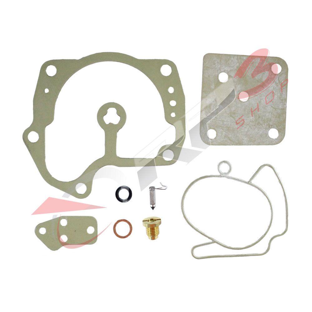 Kit de Reparo de Carburador - (SEM BOIA) - Johnson / Evinrude 125 HP / 130 HP / 135 HP / 200 HP / 225 HP / 250 HP / 275 HP / 300 HP – V4/V6 – 90 Graus -  para Motor de Popa