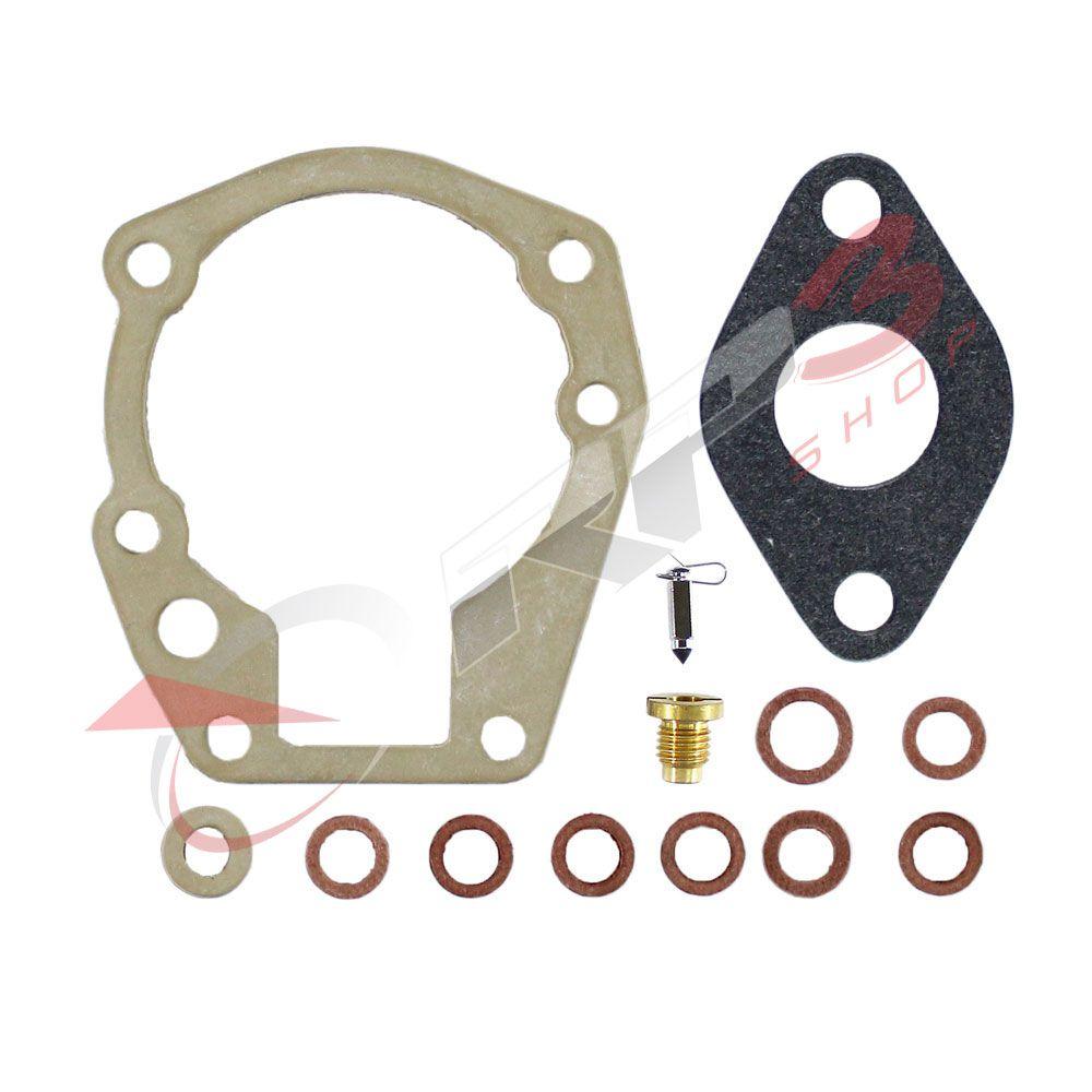 Kit de Reparo de Carburador - (SEM BOIA) - Johnson / Evinrude 3 HP - para Motor de Popa