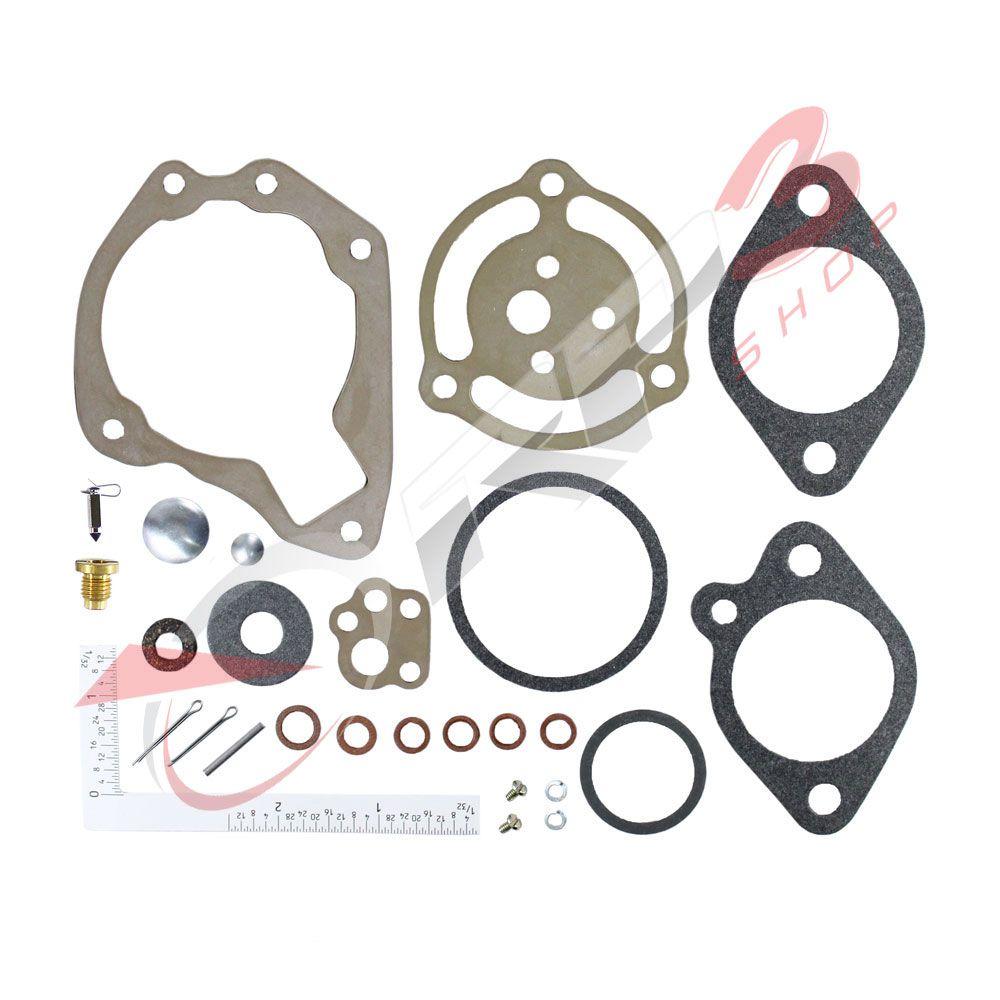 Kit de Reparo de Carburador - (SEM BOIA) - Johnson / Evinrude 5 HP / 6 HP / 25 HP / 30 HP / 35 HP / 40 HP - para Motor de Popa