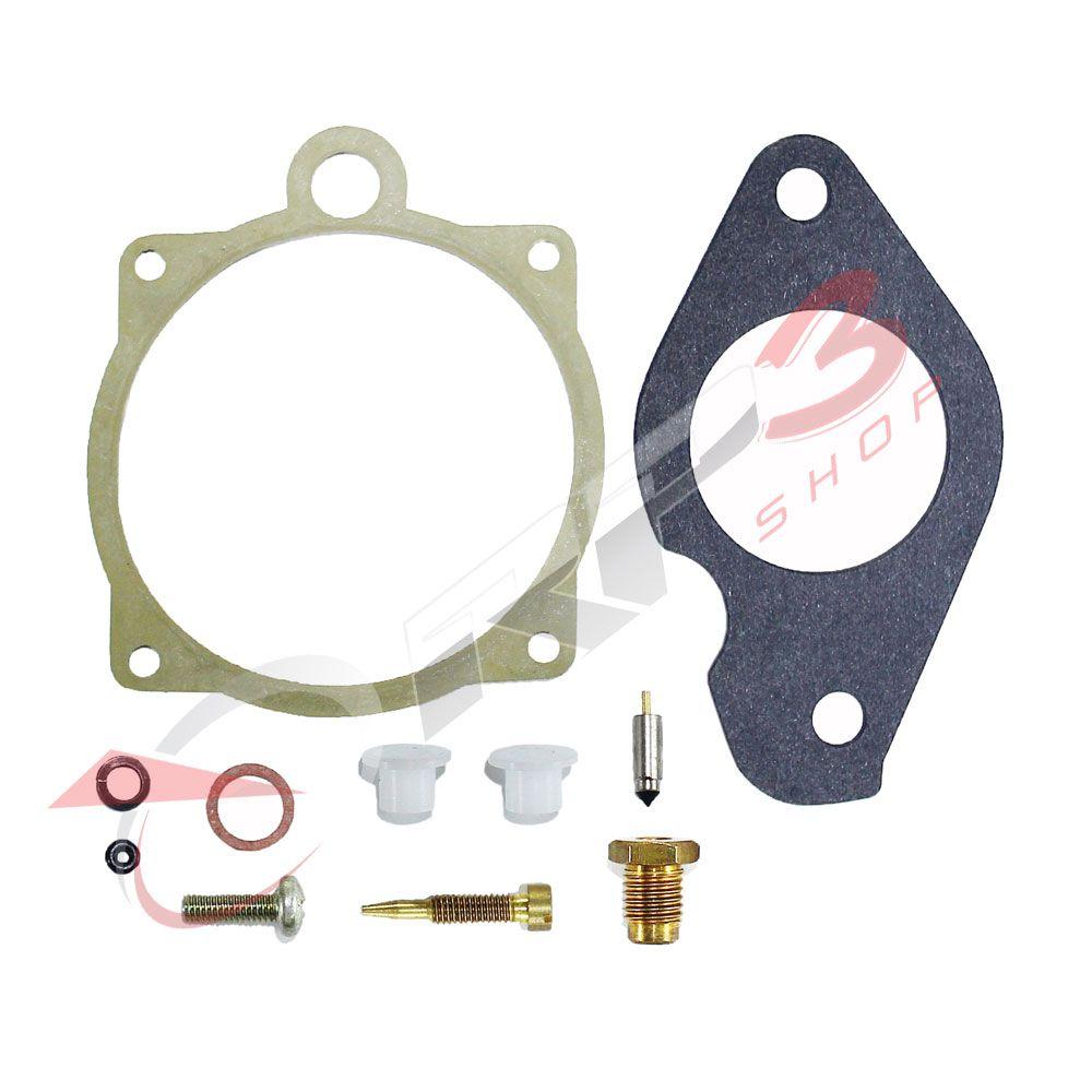 Kit de Reparo de Carburador  (SEM BOIA) - Yamaha 25 HP / 30 HP  para Motor de Popa
