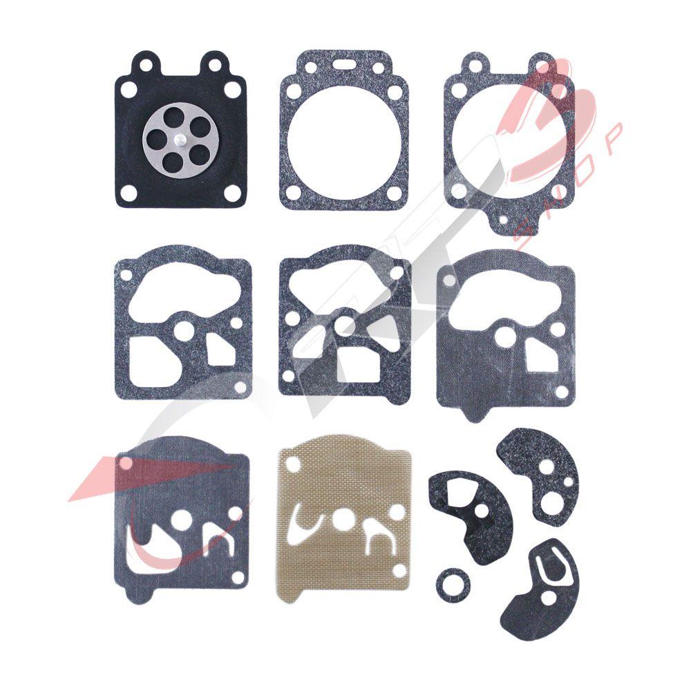 Kit de reparo de carburador – Stihl FS 160 / FS 220 / FS 280 / FS 290 – Carburador modelo WALBRO - para Roçadeira