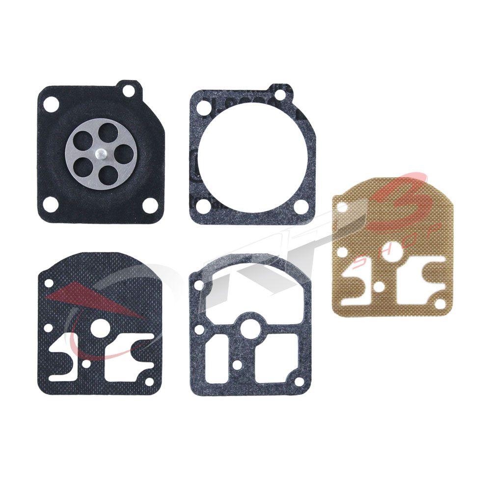 Kit de reparo de carburador – Stihl FS 160 / FS 220 / FS 280 / FS 290 – Carburador modelo ZAMA - para Roçadeira