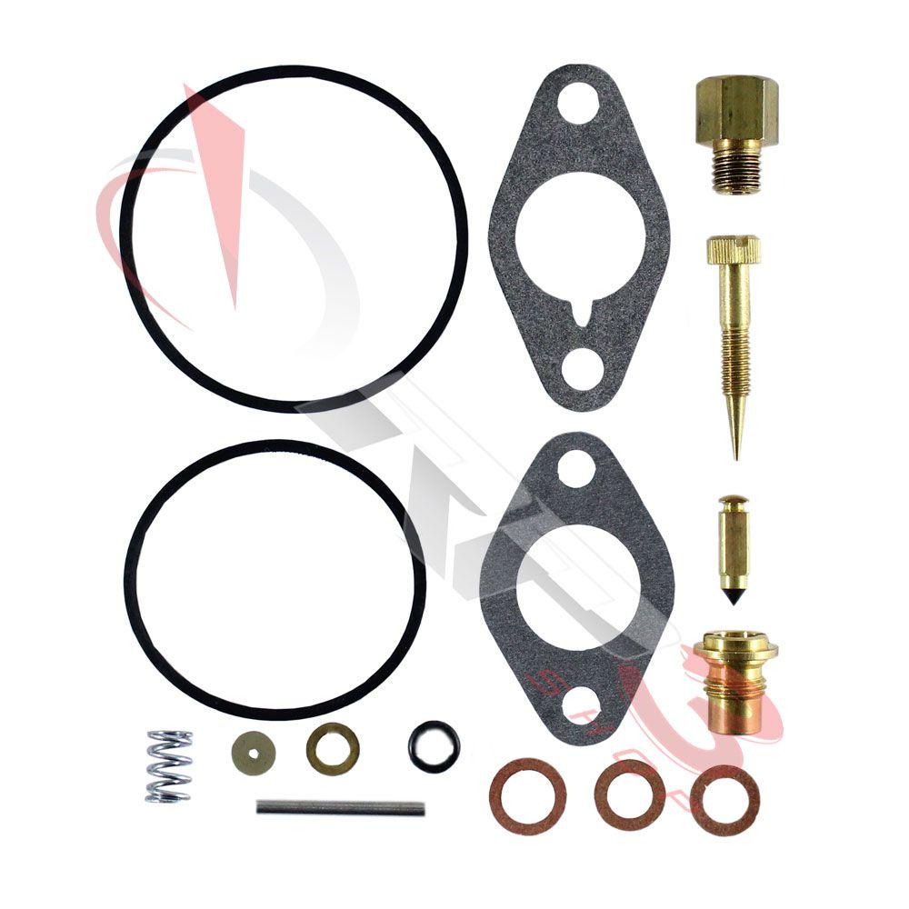 Kit de Reparo de Carburador – Tecumseh H22-H70 / HH40-HH70 / V40-V55 / VH80 / VH100 / série L / série LV / série LAV / série TV equipados com carburador Walbro – para motor Tecumseh