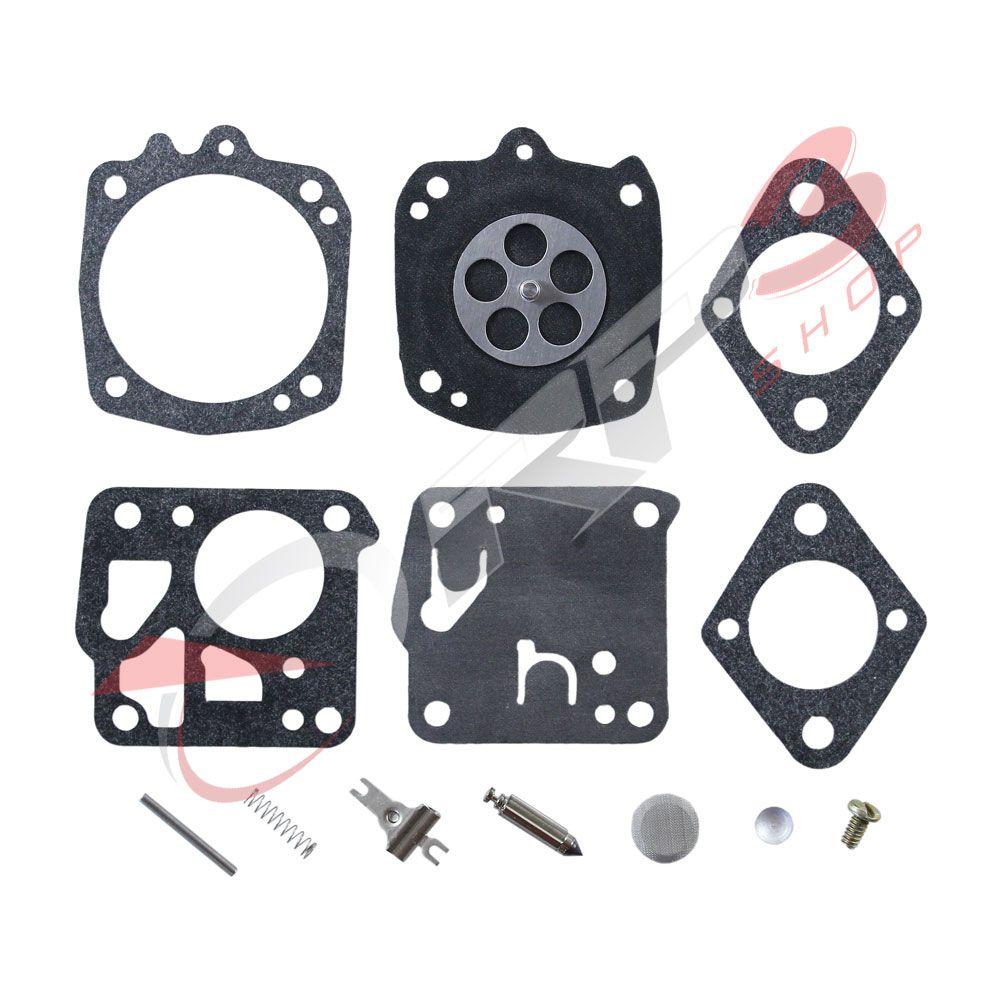 Kit de Reparo de Carburador - Wacker BS 500 / BS 600 - (para carburador modelo TILLOTSON) - para Compactador de Solo