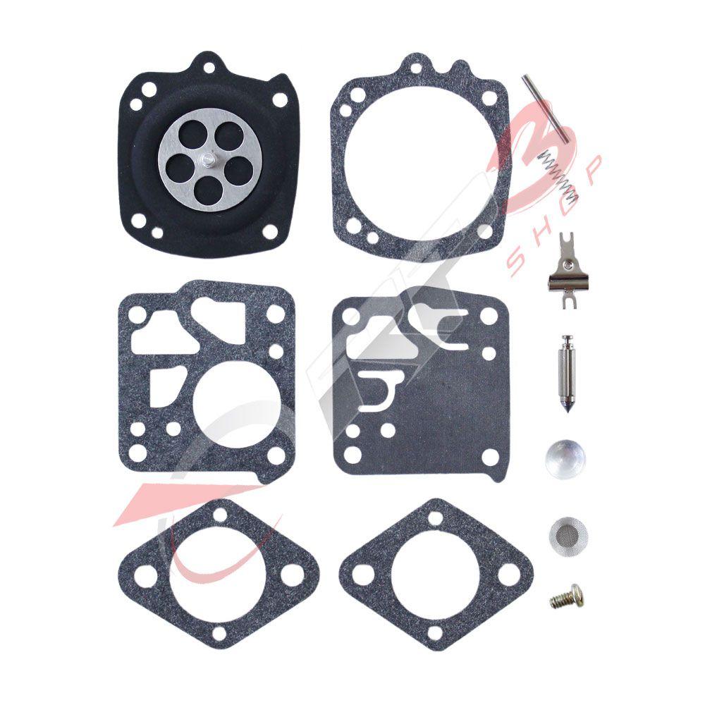 Kit de Reparo de Carburador - Wacker BS 50-2 / BS 50-2i / BS 60-2 / BS 60-2i / BS 70-2 / BS 70-2i - (para carburador modelo TILLOTSON) - para Compactador de Solo