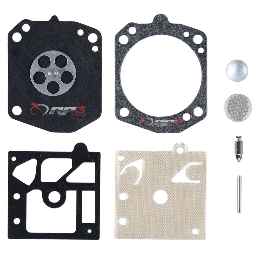 Kit de Reparo de Carburador - Wacker BS 50-2 / BS 50-2L / BS 60-2 / BS 60-2L / BS 70-2 / BS 70-2L – (para carburador modelo WALBRO) - para Compactador de Solo