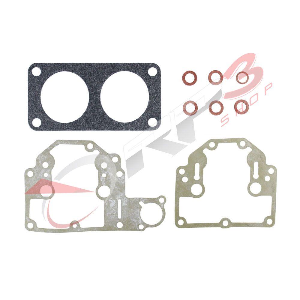 Kit de Reparo de Juntas para Carburador – Mercury-Mariner 135 HP / 150 HP / 200 HP / 225 HP - para Motor de Popa