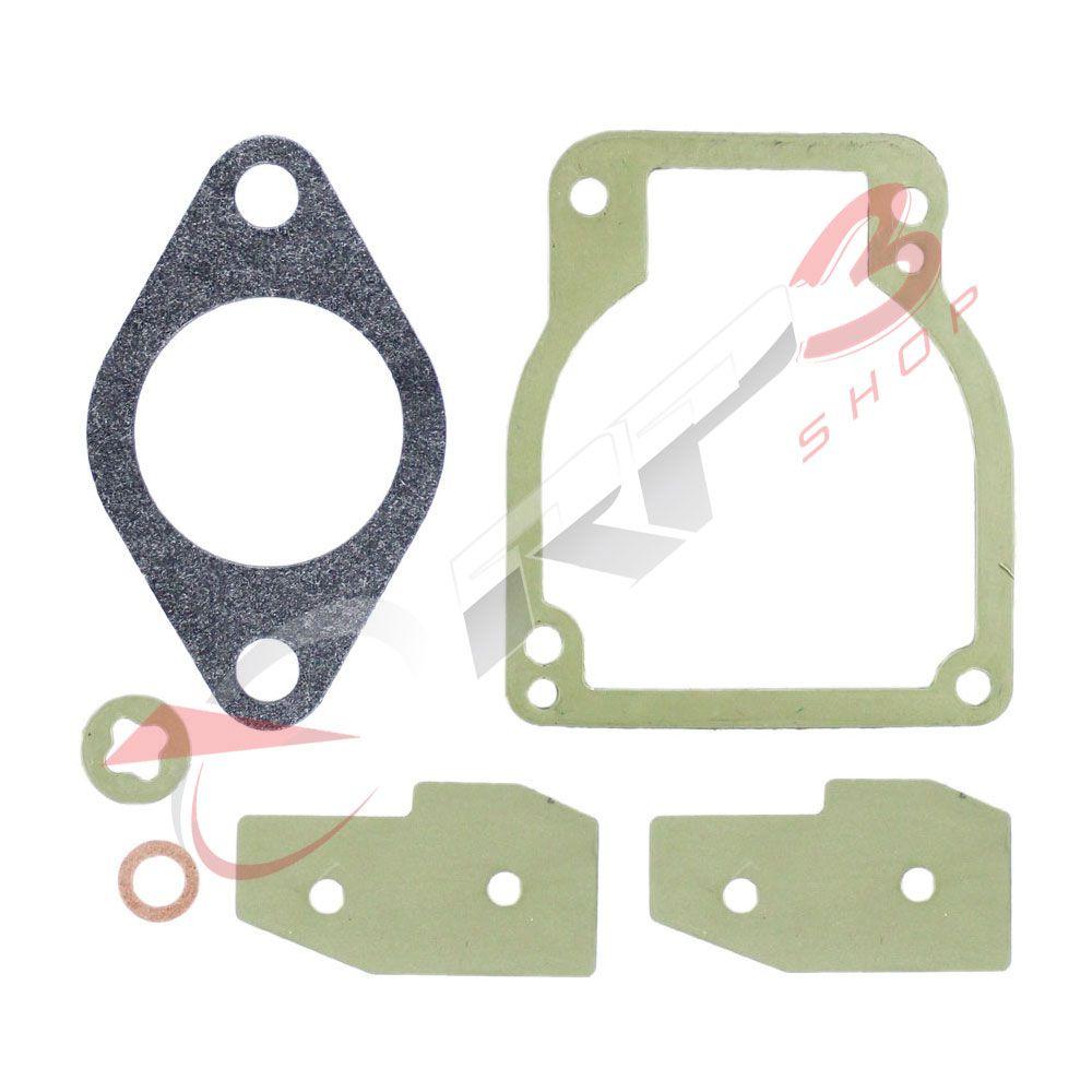Kit de Reparo de Juntas para Carburador – Mercury-Mariner 30 HP / 40 HP / 50 HP / 55 HP / 60 HP / 65 HP / 70 HP / 75 HP / 80 HP / 90 HP / 100 HP / 115 HP / 125 HP - para Motor de Popa