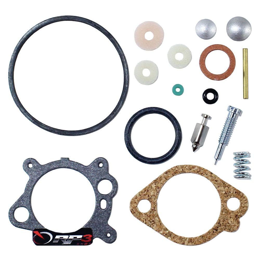 Kit Reparo de Carburador Cortador de Grama Briggs 3.5 HP / 4 HP / 5 HP / 6 HP - para motor Briggs & Stratton
