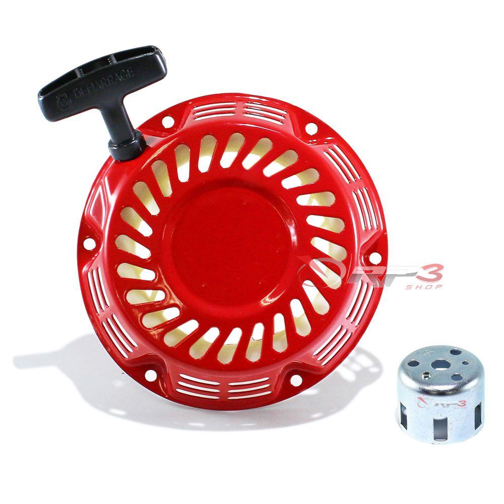 Partida Retrátil Completa (com Copo) motor Toyama 5.5 HP / 6.5 HP - (1 UNIDADE) - para Motor Estacionário