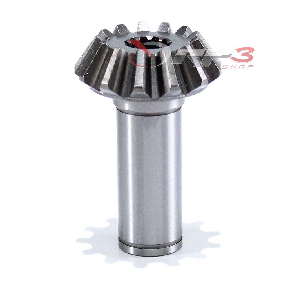 Pinhão – Yamaha 25 HP – A-B (Antigo) Rabeta Pino – 25 HP-C- E25F (Enduro) -13 Dentes (Reto) - Importado - para Motor de Popa