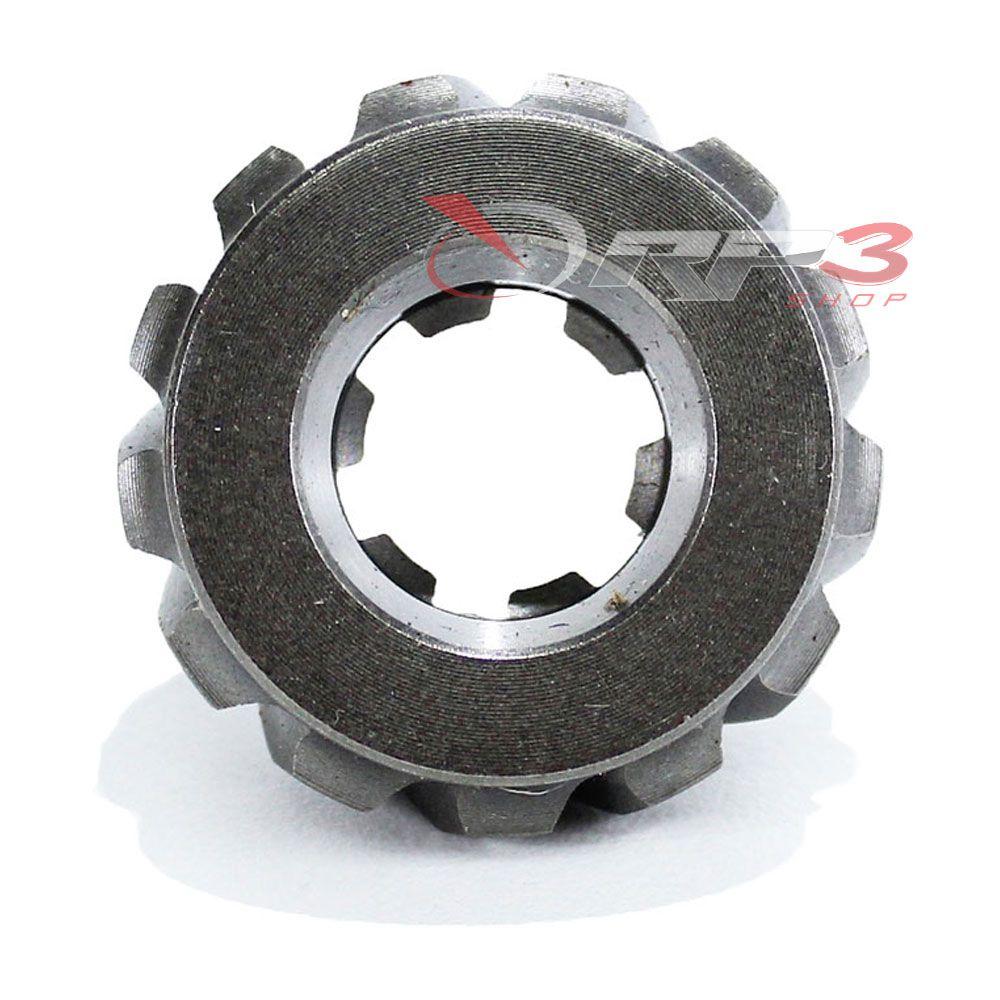 Pinhão – Yamaha 2 Tempos- 25 HP-A-B-V / 30 HP-G-H- 4 Tempos - F25 A-Am-Amhs -13 Dentes (Helicoidal) - Importado - para Motor de Popa