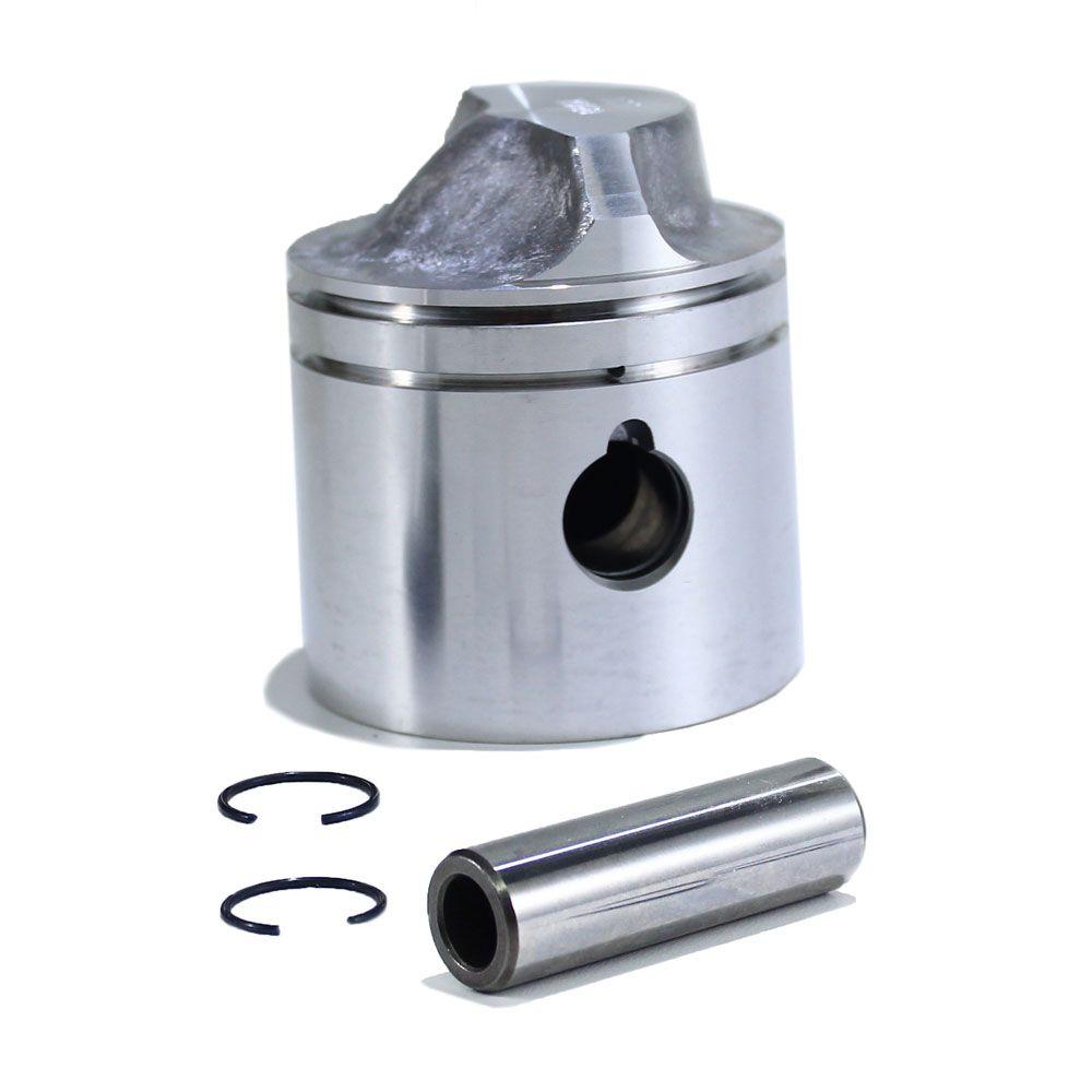 Pistão STD - Johnson / Evinrude 15 HP até 1992 – Com Travas e Pino (Sem Anéis) – Importado - para Motor de Popa