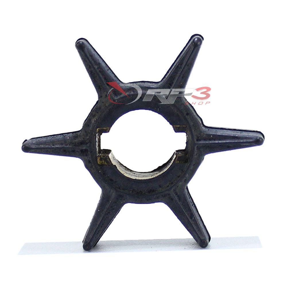 Rotor da Bomba da Água – Johnson / Evinrude 2 HP / 3.3 HP - Importado - (Origem EUA) - para Motor de Popa
