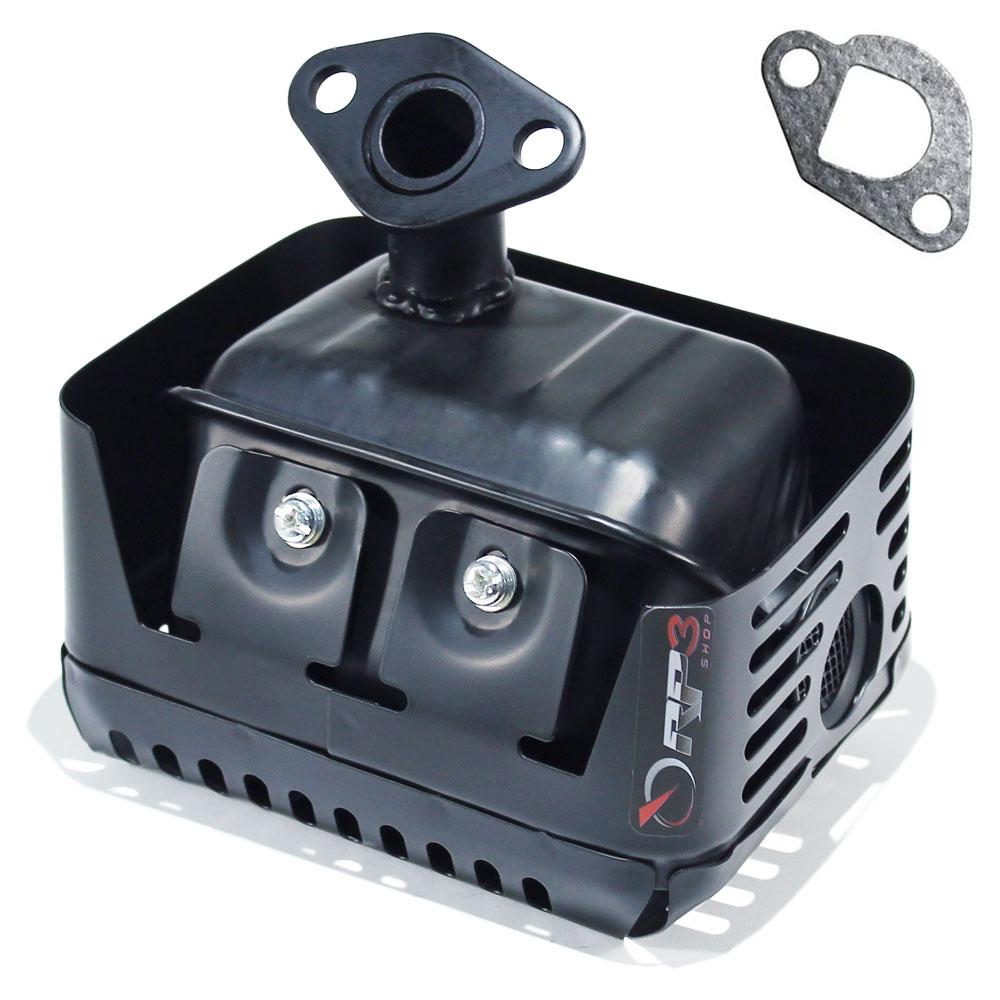 Silencioso / Escapamento + Junta - motor Toyama 5.5 HP / 6.5 HP / 7.0 HP - motor estacionário