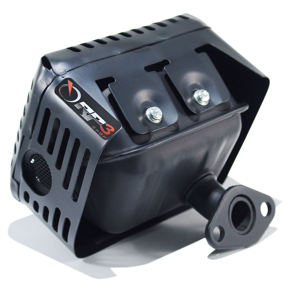Silencioso / Escapamento motor Branco 5.5 HP / 6.5 HP / 7.0 HP - motor estacionário