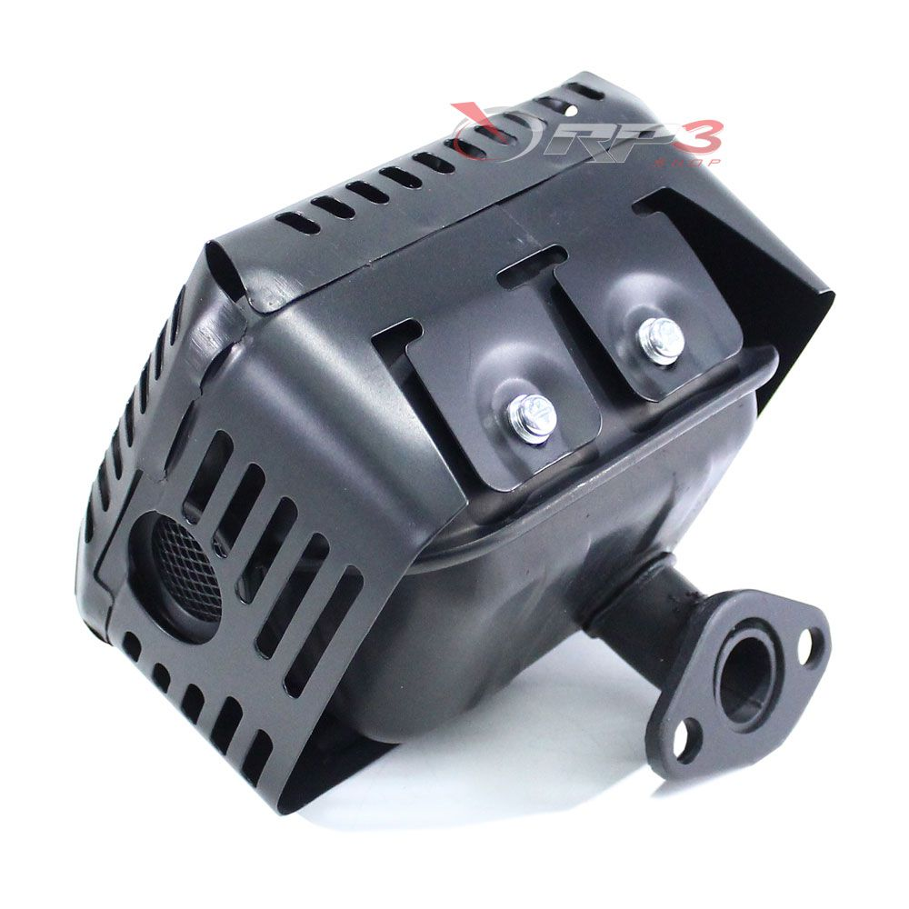 Silencioso / Escapamento motor Toyama 5.5 HP / 6.5 HP / 7.0 HP - motor estacionário