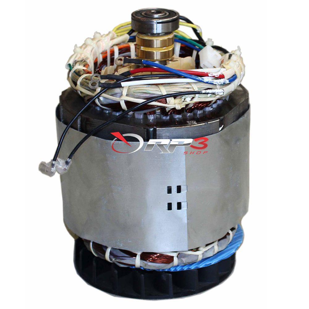 Unidade Geradora - Gerador de Energia - a Gasolina 4 tempos - 13 HP - Potência 6,1 KVA - Trifasico - Com AVR