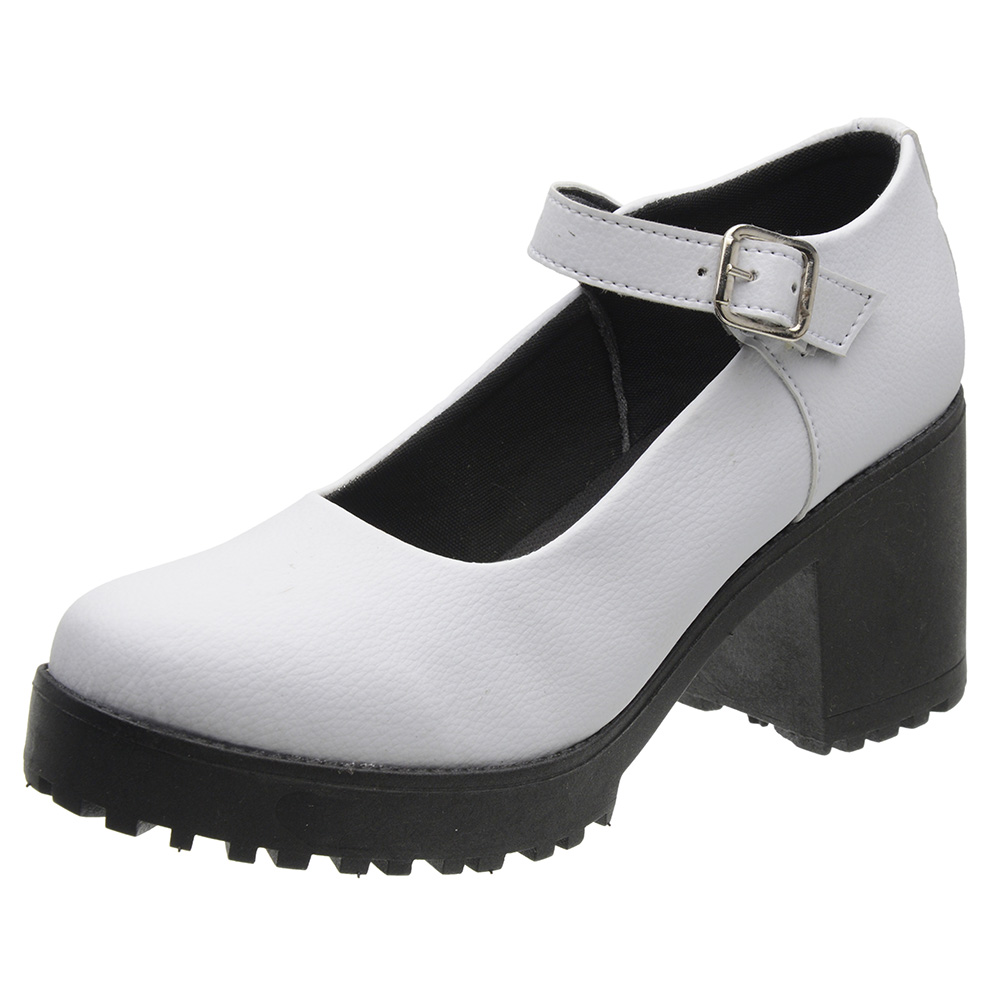 Sapato Mary Jane Feminino 3ls3 Branco