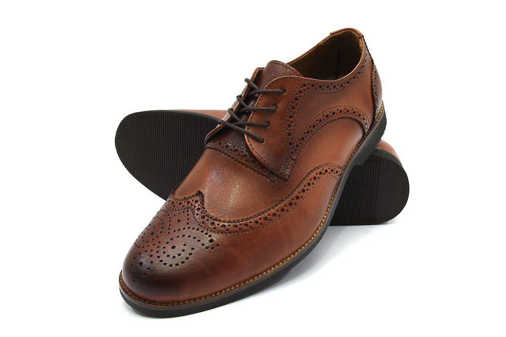 Sapato Oxford 3ls3 Couro Masculino
