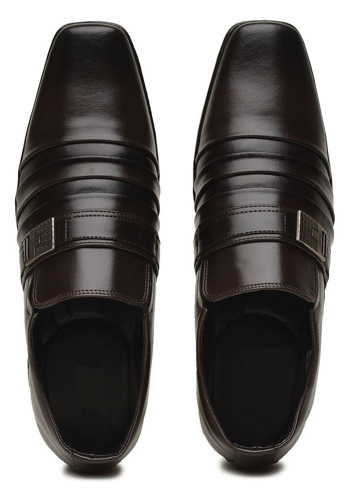 Sapato Social 3ls3 Masculino Marrom