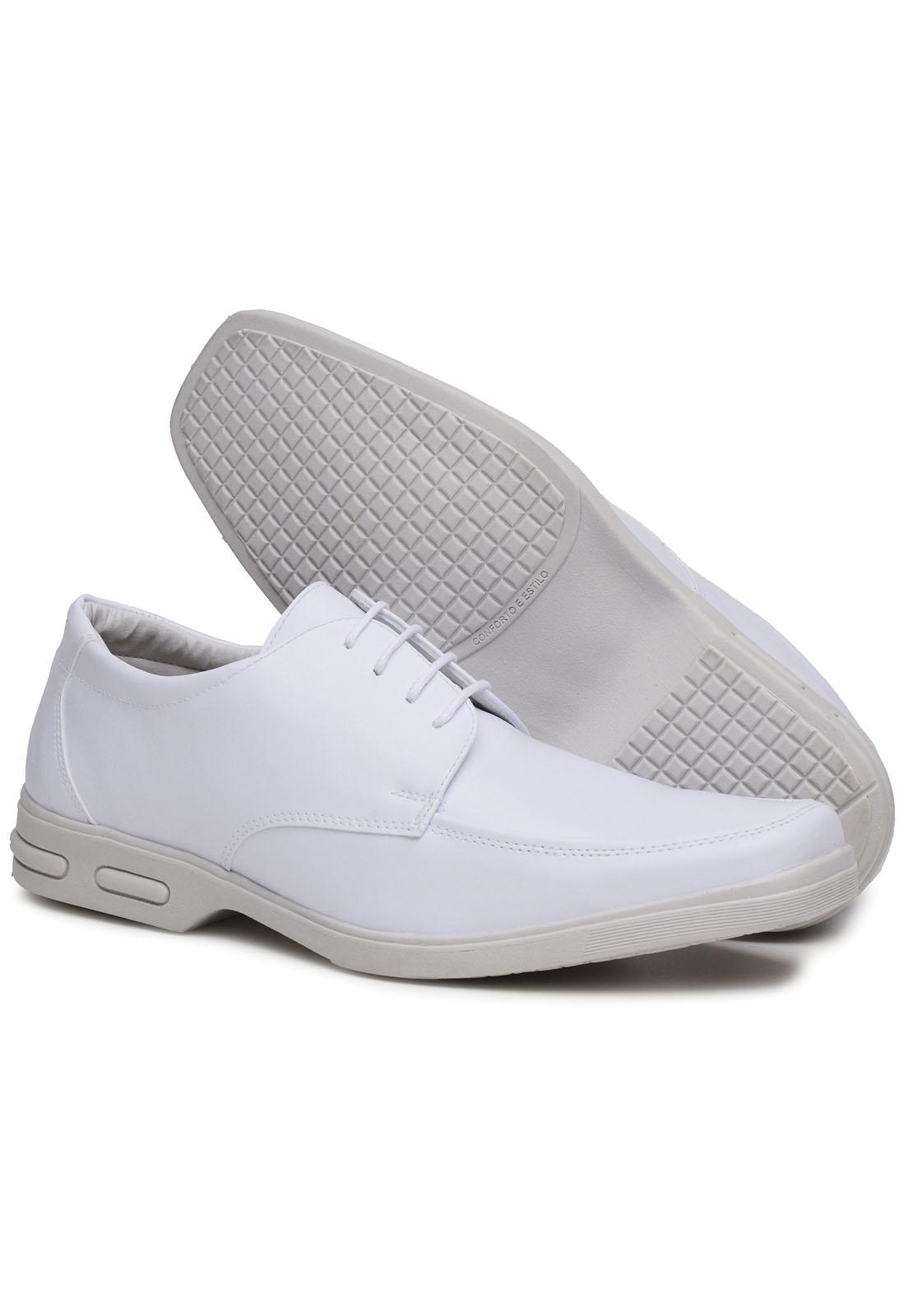 Sapato Social 3ls3 Masculino Branco