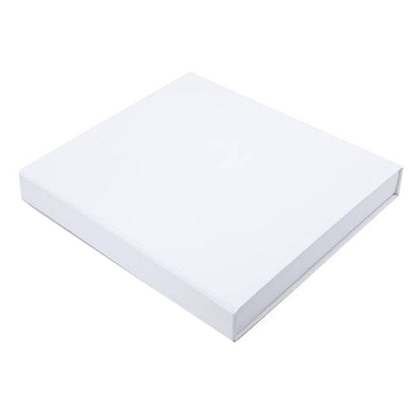 14,5 x 14,5 x 2cm - Caixa Premium Magnética Branca - Ref.020051