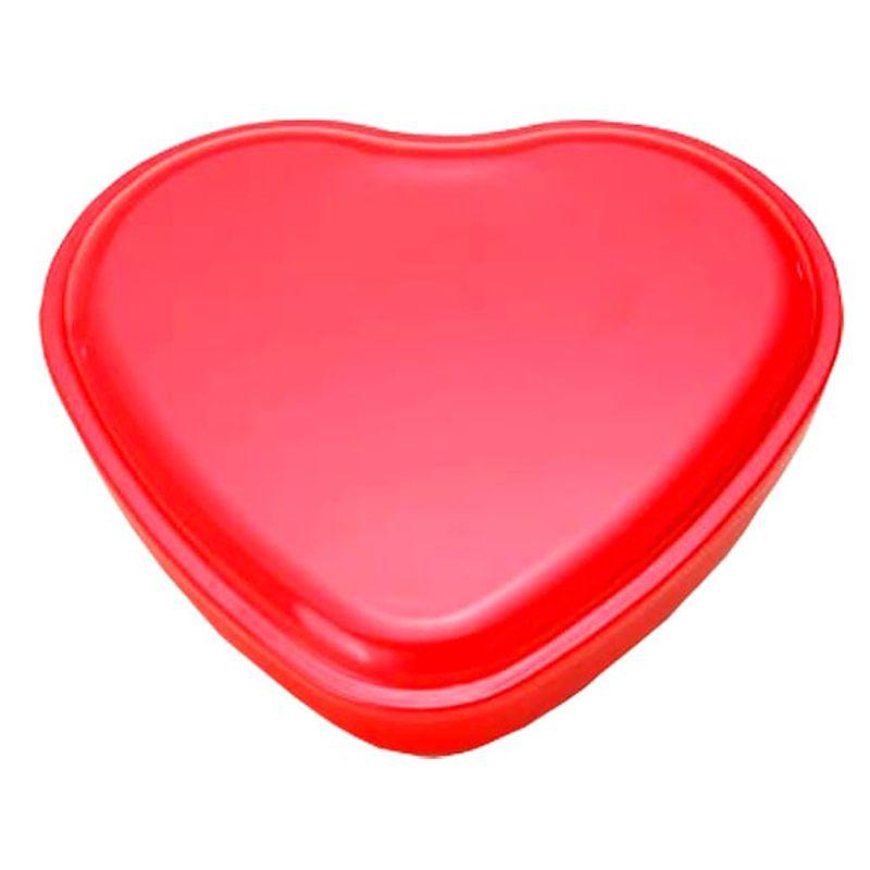19,6 x 21,5 x 4cm - Lata Coração Vermelha - REF.0011135