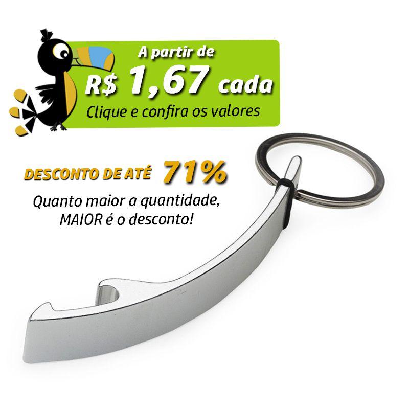Abridor Curvo Chaveiro - Ref.0044058