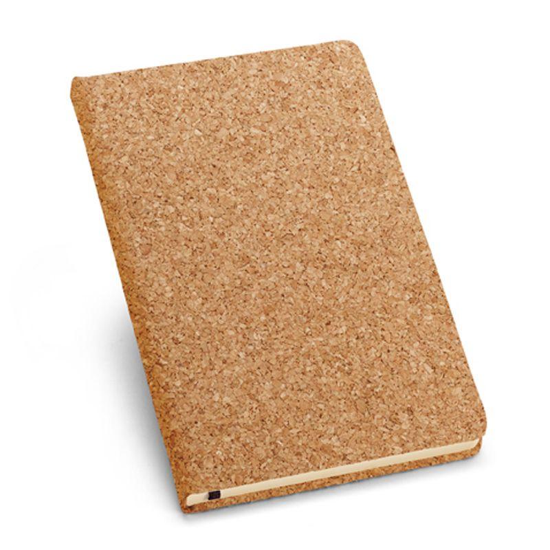 Caderno Cortiça (Tipo Moleskine) - Ref.0019340