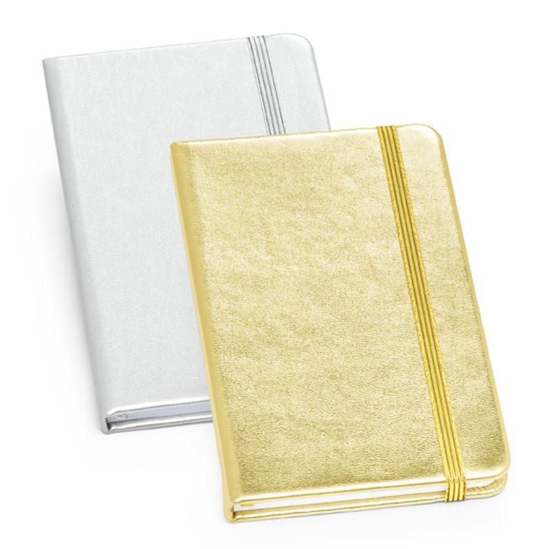 Caderno Metalizado - Tipo Moleskine - Ref.0019315 - A partir de...