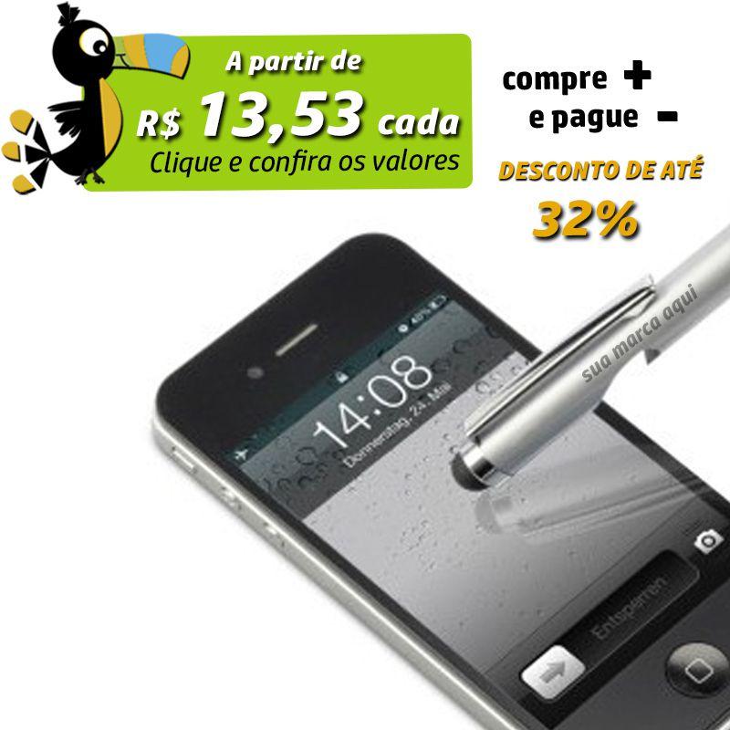 Caneta Abridor de Garrafa e Touch - Ref.0028550