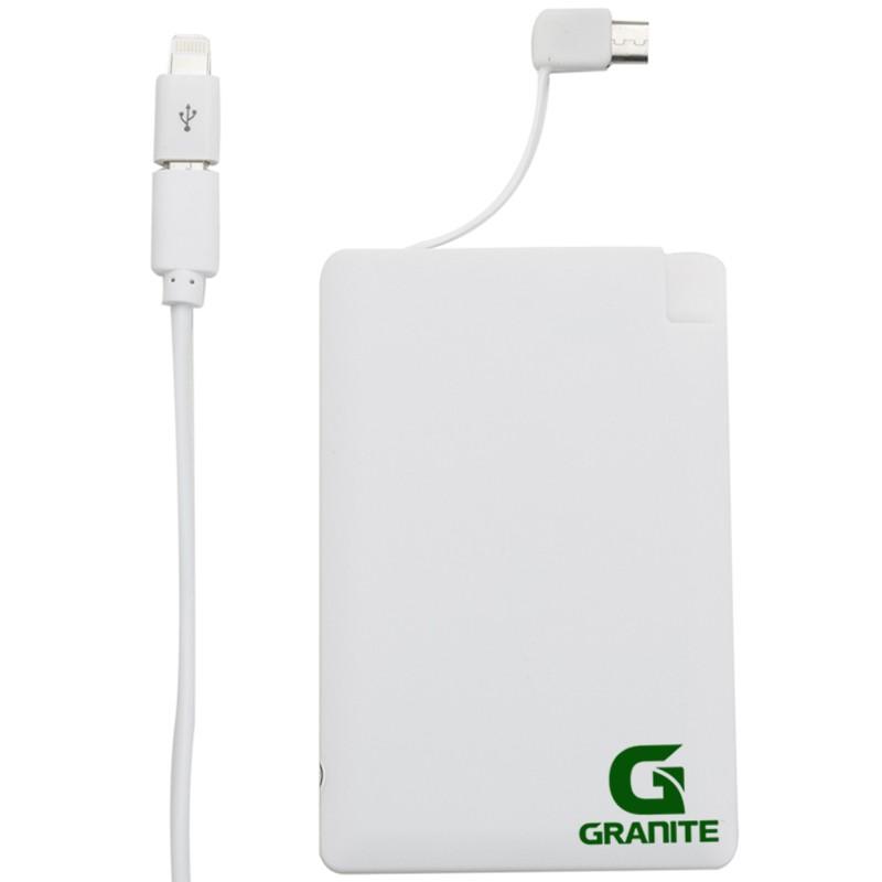 Carregador powerbank portátil slim em formato de cartão Ref.0021017