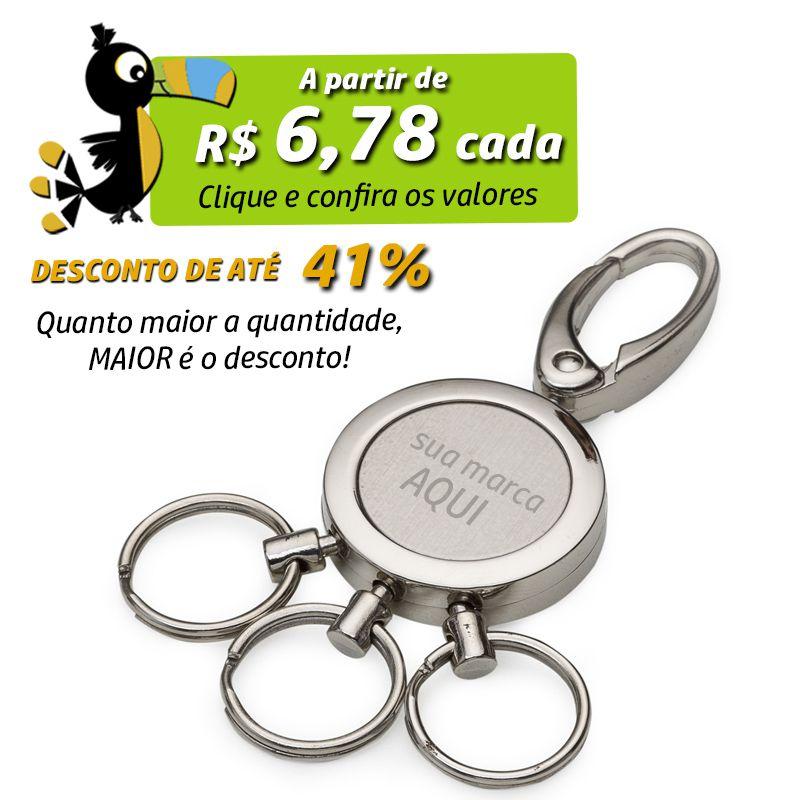 Chaveiro 3 Argolas  - Ref.0044027