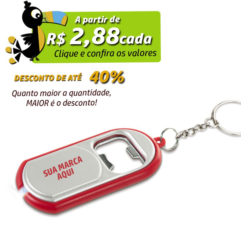 Chaveiro Abridor com Led - Ref.0044120