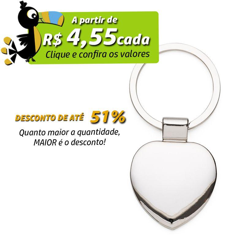 Chaveiro Coração - Ref.0044097